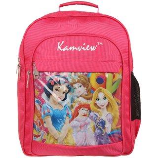 6ea56033fef5 Buy Kamview Pink Colour Kids Big School Bag KVB-S-P1 Online - Get 45 ...