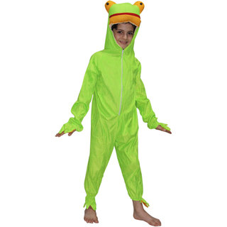 Kaku Fancy Dresses Frog Water Animal Costume For Kids School Annual function/Theme Party/Competition/Stage Shows/Birthday Party Dress