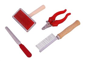 W9 High Quality Grooming Kit With 4 Tools For Small Pup