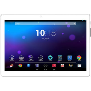 I KALL N10 10Inch Display Dual Sim 1 GB RAM 8 GB With Calling Tablet Golden