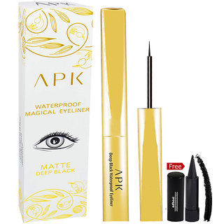 APK Waterproof Magical Eyeliner PK39 With Free Adbeni Kajal Worth Rs.125/