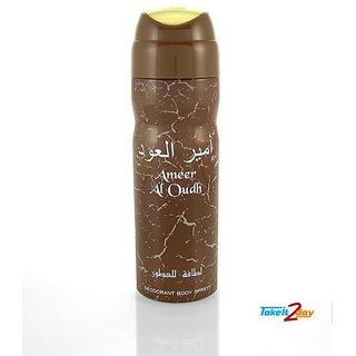 Lattafa Ameer Al Oud Deodorant Body Spray For Men  Women 200ml