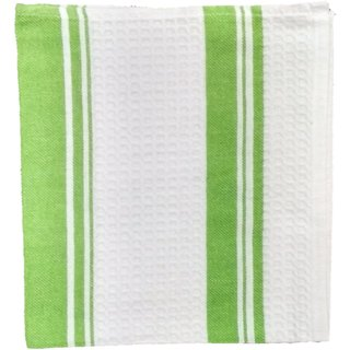 Lakshmi Trader Centre Swipe Kitchen Towel (Pack of 5  Size 4565CM Green)