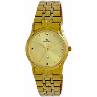 Maxima 01443CMGY Watch - For Men