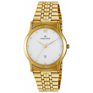 Maxima 01444CMGY Watch - For Men