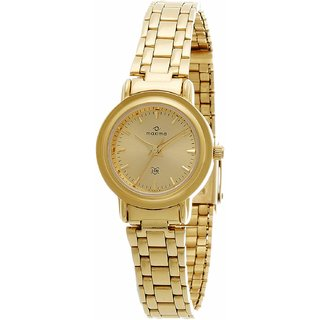 Maxima 01145CMLY Watch - For Women