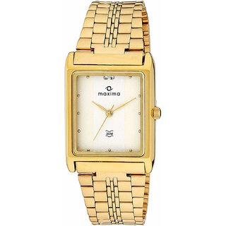 Maxima 06094CMGY Watch - For Men