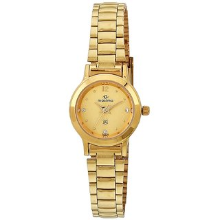 Maxima 04639CMLY Watch - For Women