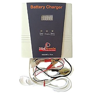 DigiTronix Battery Charger 12 Volt 6 Amp SMPS with Voltmeter -T6A
