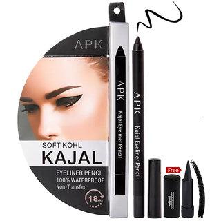 APK Soft Kohl kajal Eyeliner Pencil 18Hr PK29 With Free Adbeni kajal Worth Rs.125/