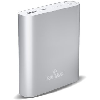 DIGIMOB 10400mAh Power Bank - SILVER