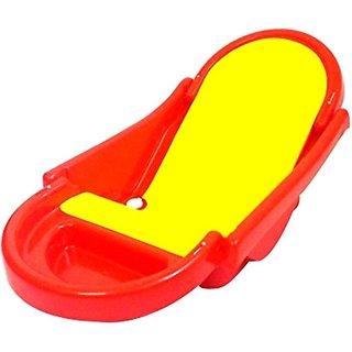 Baby Foldable Bath Tub Red