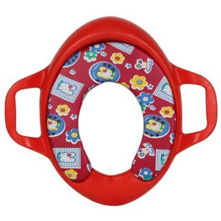 Potty Seat Cushioned For Kids Red