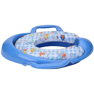 Potty Seat Cushioned For Kids Blue