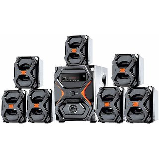 I Kall IK2222 Speaker system 7.1 Channel Cum Home Theater without DVD Player 1 Year Manufacturing Warranty