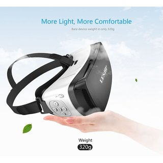 82c7d21a7b8 Buy Tech Gear Bluetooth 3D VR Glasses Headset Virtual Reality VR Box Play  Movies Photos Enjoyment for Smartphones Online - Get 60% Off