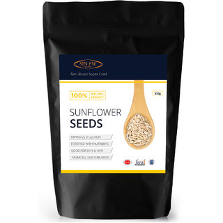 Sinew Nutrition Sunflower Seeds, Protein and Fibre Rich Superfood - 350 gm