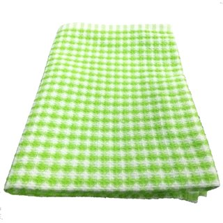 Lakshmi Trader Mini Honeycomb Kitchen Towel (Pack of 6  Size 4060CM Green)
