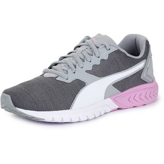 Puma Womens Grey IGNITE Dual NM Wns Running Shoes