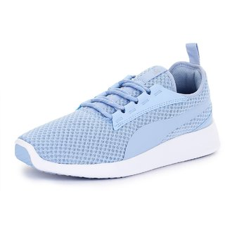 Puma Womens Sky Blue ST Trainer Evo v2 Running Shoes