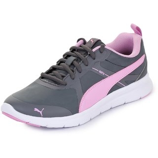 Puma Womens Grey Flex Essential SL Running Shoes