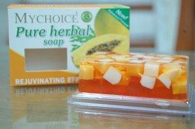 My Choice Pure Herbal Papaya Whitening Soap