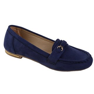 Catbird Women Navy Loafers