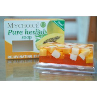 My Choice Pure Herbal Papaya Whitening Soap