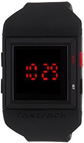 Fastrack Casual Digital Black Dial Mens Watch - 38012PP