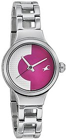 Fastrack Analogue Pink Dial Womens Watch-Fastrack-6134S
