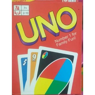 Shribossji Uno Playing Flash Cards For Kids Party Table Fun Games/playing  Cards Game (Multicolor)