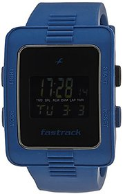 Fastrack Casual Digital Black Dial Mens Watch - 38009PP