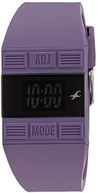 Fastrack Casual Digital Black Dial Womens Watch - 68004