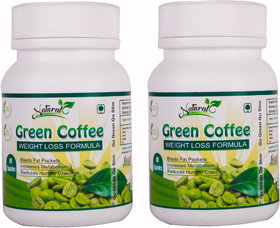 Natural Health Care Green Coffee Weight Loss Formula 60