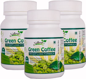 Natural Health Care Green Coffee Weight Loss Formula 60 - 140224970