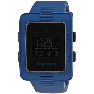 Fastrack Casual Digital Black Dial Mens Watch - 38009PP02