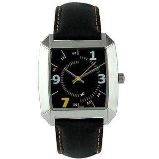 Fastrack OTS Core Analog Black Dial Mens Watch - NE9336SL03A