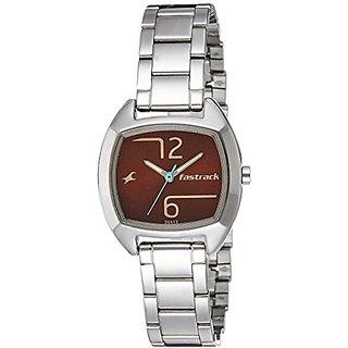 Fastrack Analog Brown Dial Girls Watch-6162SM02