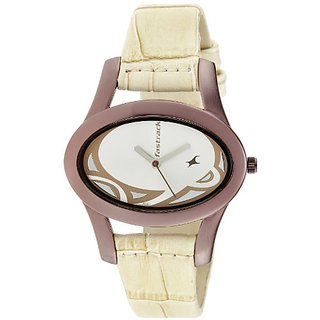 Fastrack New OTS Analog Multi-Color Dial Womens Watch - NE9732QL01