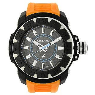 Fastrack Analog Beige Dial Mens Watch-9334PP04