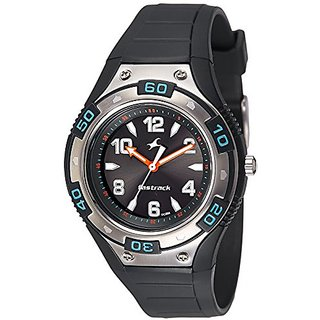 Fastrack Analog Black Dial Mens Watch-9333PP07