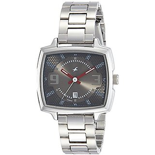Fastrack Loopholes Analog Silver Dial Womens Watch-6167SM01