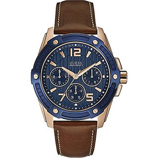 Guess Analog Blue Dial Mens Watch - W0600G3