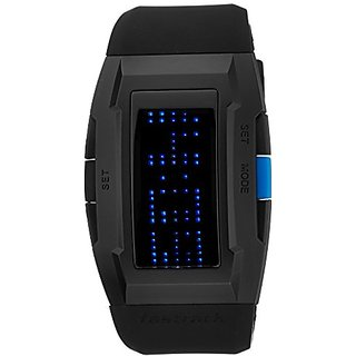 Fastrack Casual Digital Black Dial Mens Watch - 38014PP01