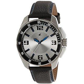 Fastrack Analog Silver Dial Mens Watch - NG3084SL01