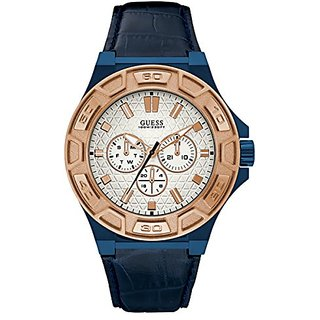 Guess Force White Dial Multi-function Mens Watch -W0674G7