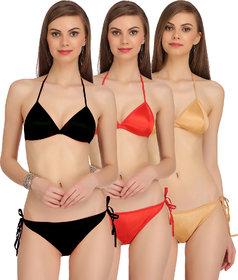 Fashion Comfortz Womens Lingerie Set Pack of 1(Assorted color)