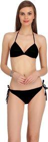 Fashion Comfortz Womens Black Lingerie Set