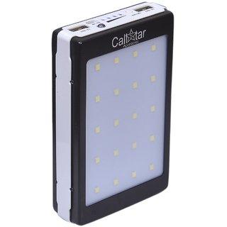 CallStar Solar Power Bank 13000mAh 20LED (Black)