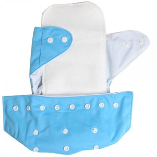 House of Quirk Reusable Baby Washable Cloth Diaper Nappies With Wet-free inserts For Babies of Ages 0 to 2 years